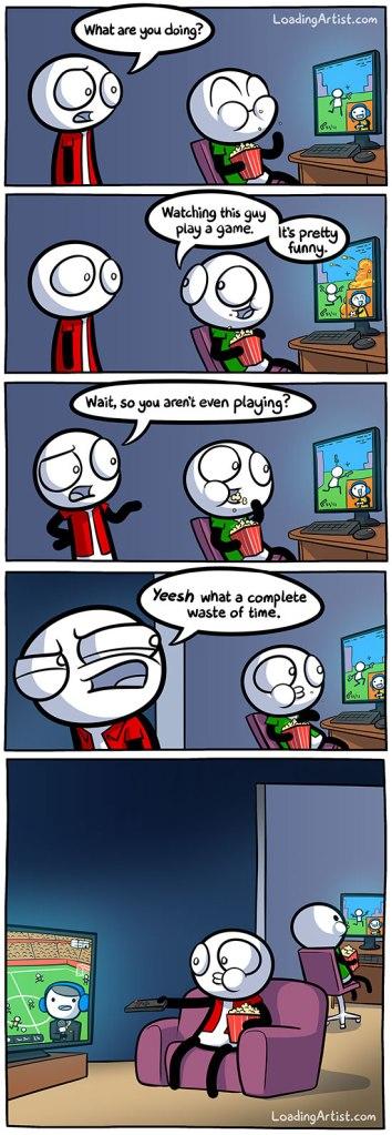 Streaming Comic