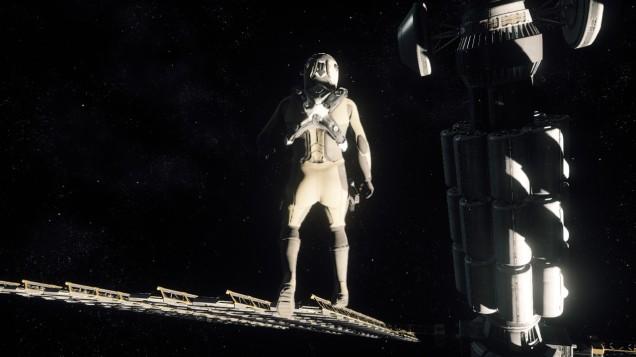 Star Citizen space walk
